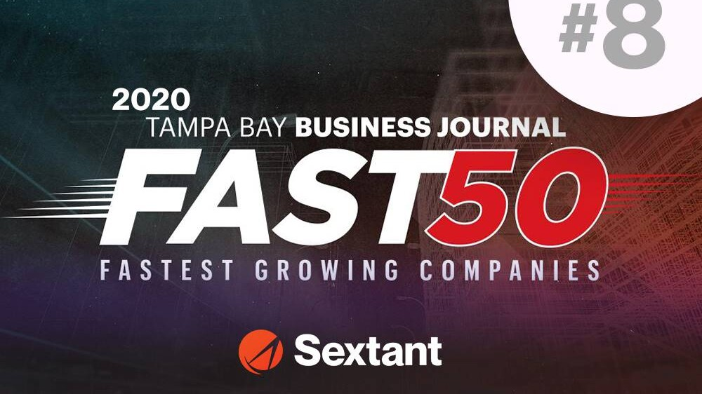 Tampa Bay Business Journal Fast 50 #8