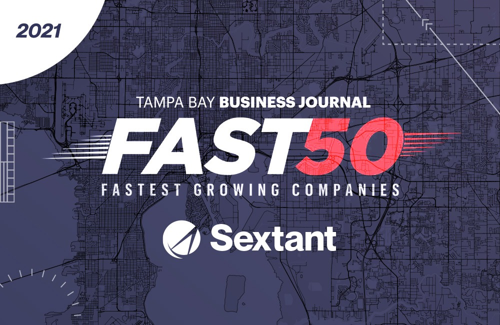Sextant Marketing nominated for Tampa Bay's Fast 50